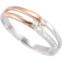 Picture of 0.03 Total Carat Designer Wedding Round Diamond Ring