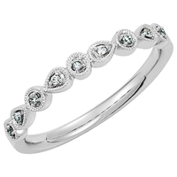 Picture of 0.04 Total Carat Designer Wedding Round Diamond Ring
