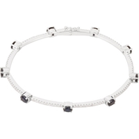 Picture of 0.75 Total Carat Line Round Diamond Bracelet