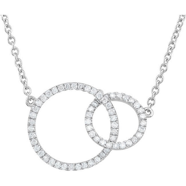 033 total carat classic round diamond necklace agy diamonds picture of 033 total carat classic round diamond necklace aloadofball Choice Image
