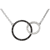 Picture of 0.33 Total Carat Classic Round Diamond Necklace