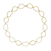 Picture of 1.33 Total Carat Designer Round Diamond Necklace