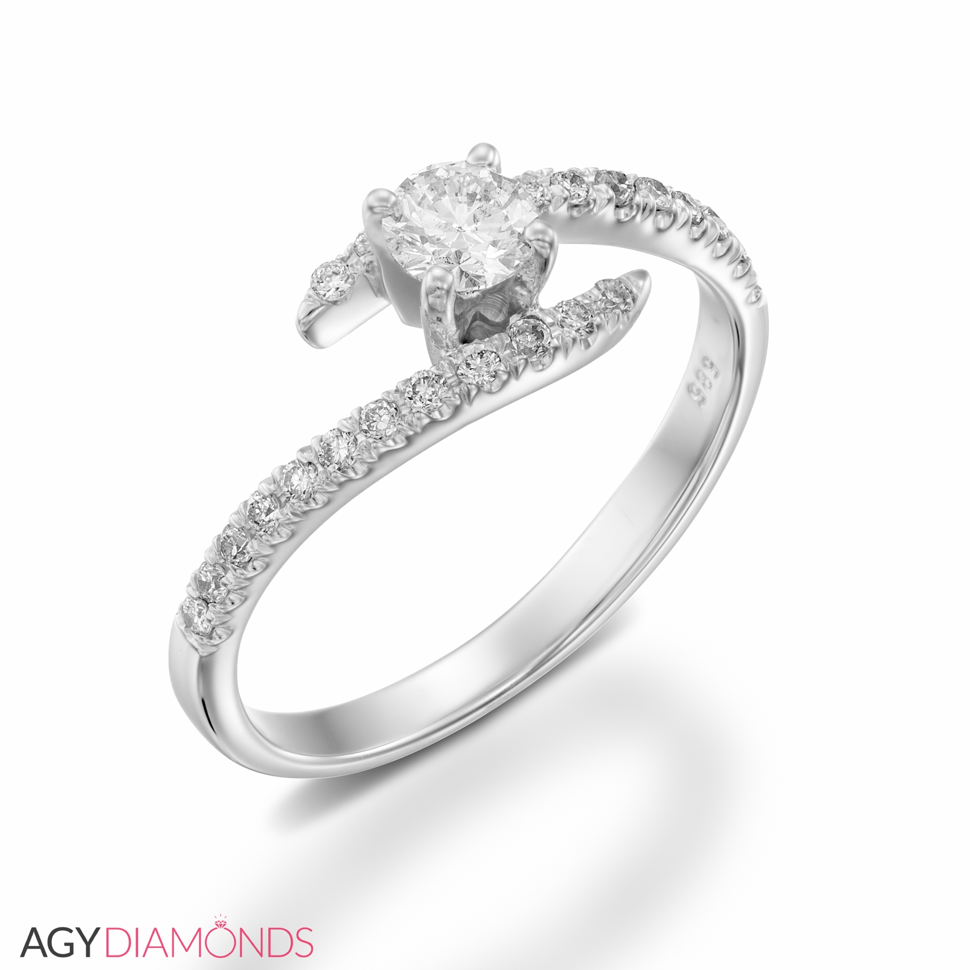 diamonds designer designs ring carat diamond engagement rings picture total of agy round