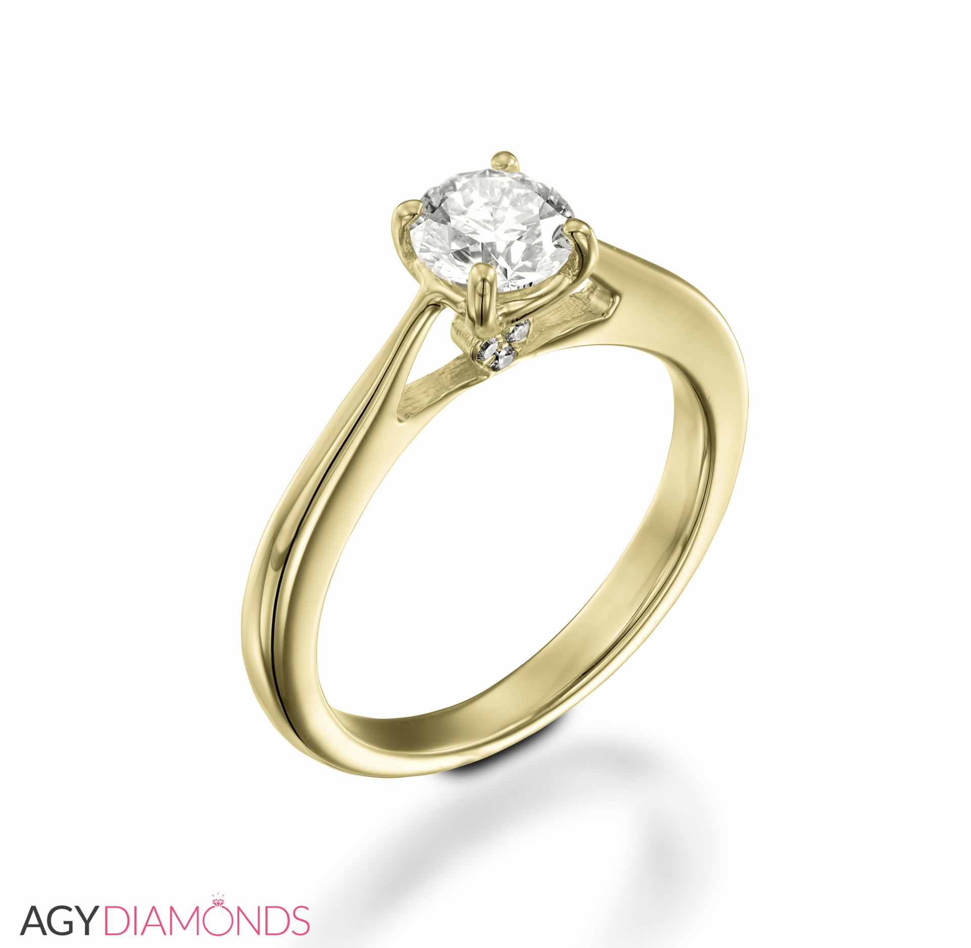 spring with round the diamond certified white gia band ring side on engagement diamonds gold