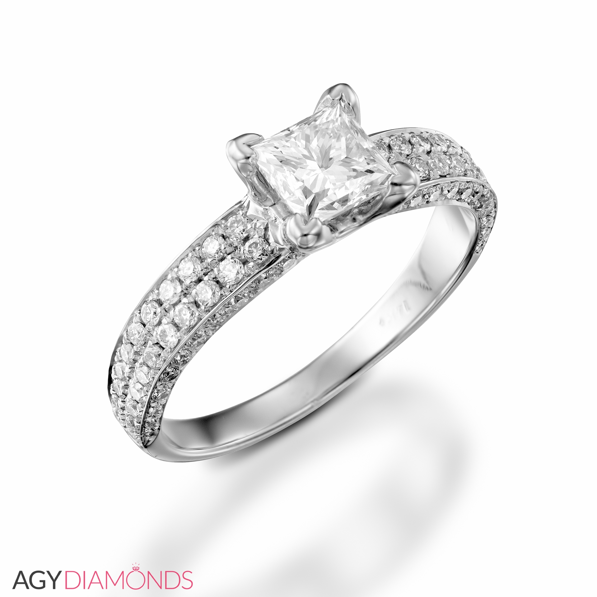 gallery ring with scroll designs engagement in diamond design gold rings marquise solitaire white cut