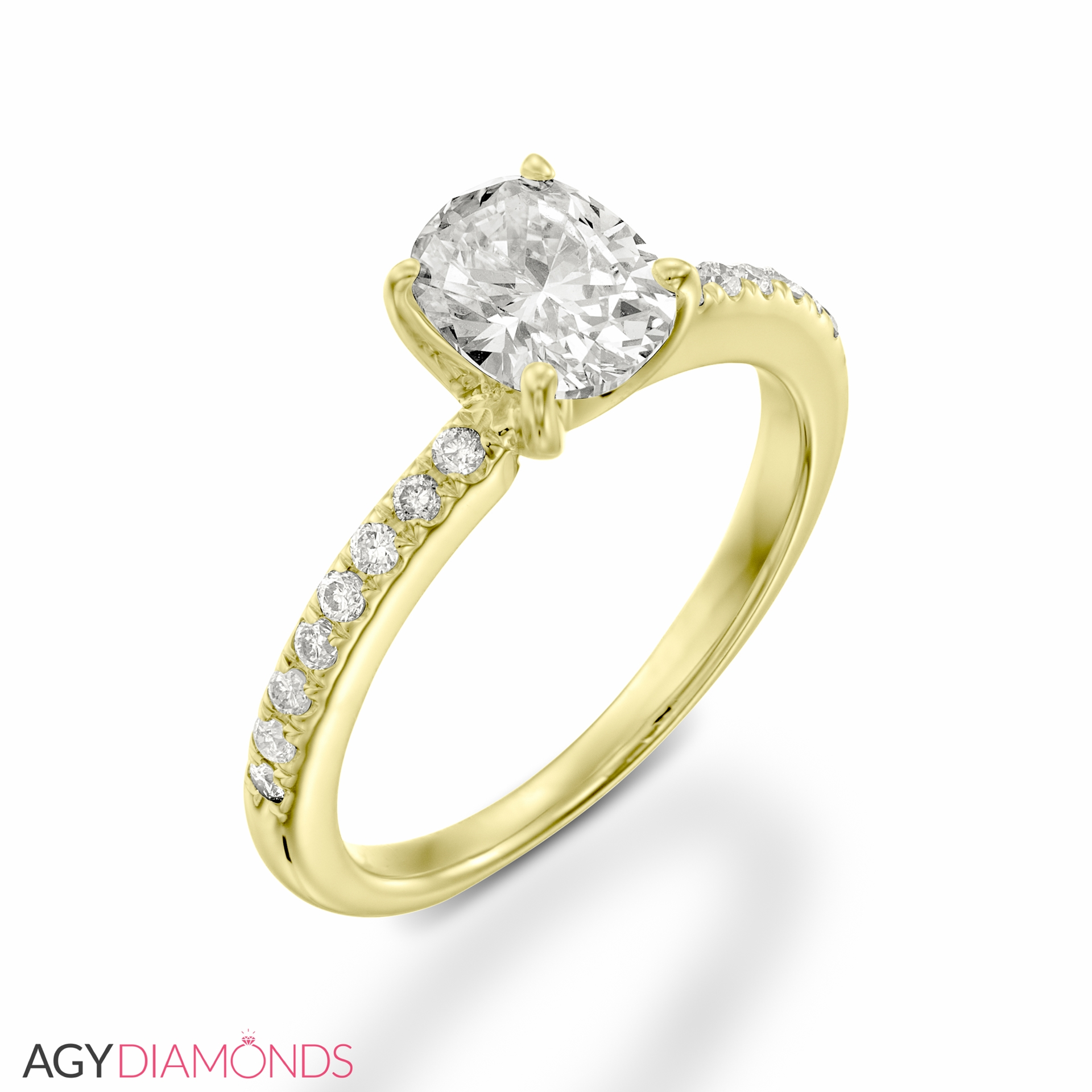 041 total carat classic engagement oval diamond ring agy diamonds picture of 041 total carat classic engagement oval diamond ring junglespirit Choice Image