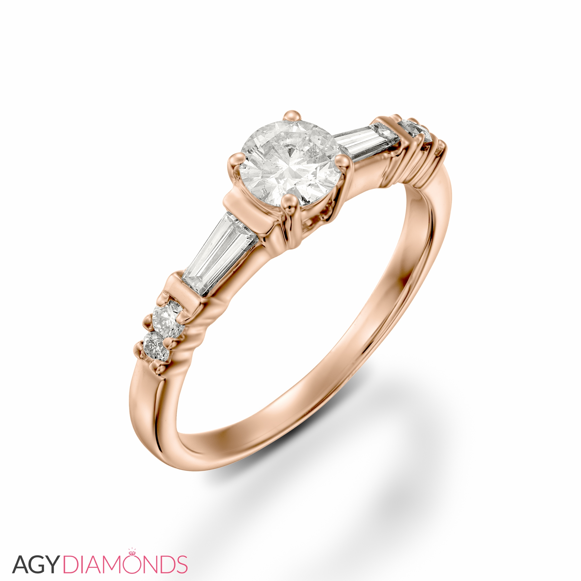 wedding artemer rings lineup band finger engagement on ring diamonds products dainty diamond baguette