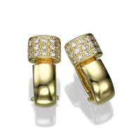 Picture of 0.30 Total Carat Stud Round Diamond Earrings
