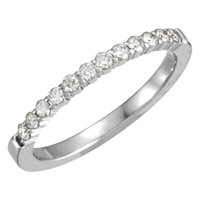 Picture of 0.25 Total Carat Anniversary Wedding Round Diamond Ring