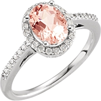 Picture of 0.20 Total Carat Halo Wedding Round Diamond Ring