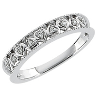 Picture of 0.05 Total Carat Anniversary Wedding Round Diamond Ring