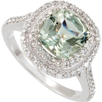 Picture of 0.75 Total Carat Halo Wedding Round Diamond Ring
