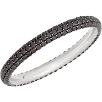 Picture of 1.00 Total Carat Eternity Wedding Round Diamond Ring