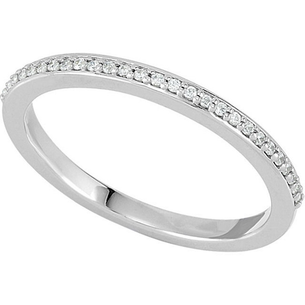 Picture of 0.07 Total Carat Anniversary Wedding Round Diamond Ring