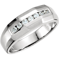 Picture of 0.20 Total Carat Designer Round Diamond Band