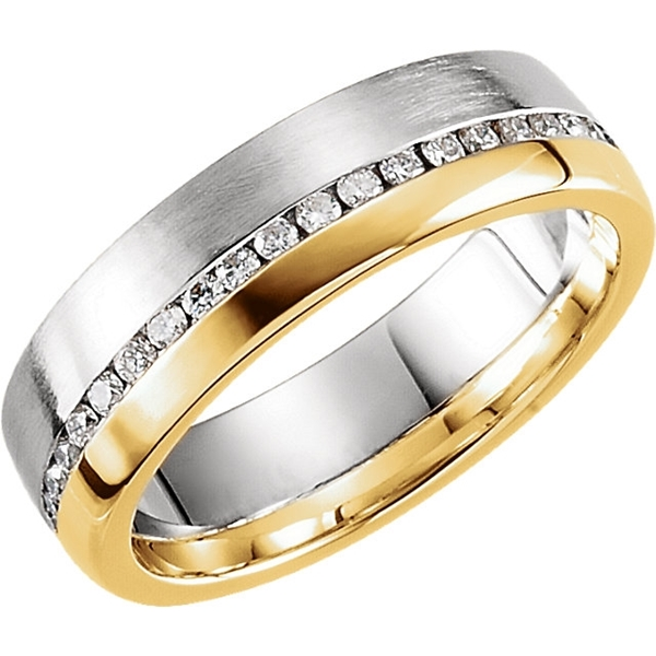 Picture of 0.33 Total Carat Comfort Fit Round Diamond Band