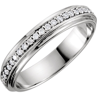 Picture of 0.33 Total Carat Eternity Round Diamond Band