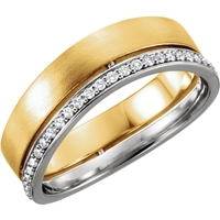 Picture of 0.33 Total Carat Designer Round Diamond Band