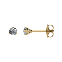 Picture of 0.20 Total Carat Stud Round Diamond Earrings