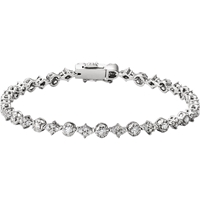 Picture of 2.51 Total Carat Line Round Diamond Bracelet