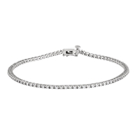Picture of 1.00 Total Carat Line Round Diamond Bracelet