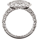 Picture of 0.13 Total Carat Designer Wedding Round Diamond Ring